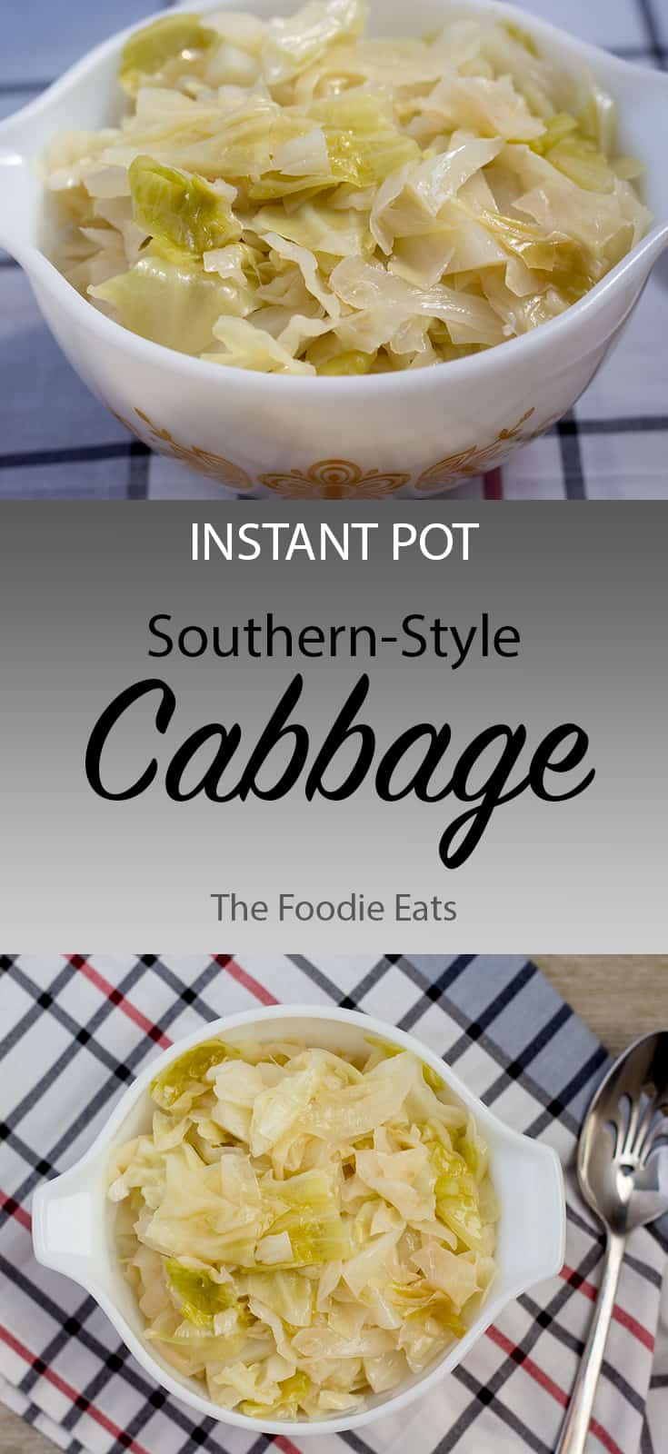 Instant Pot Cabbage | The Foodie Eats