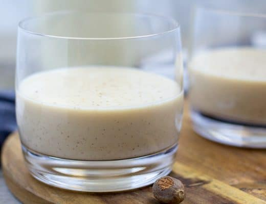Instant Pot Eggnog | The Foodie Eats