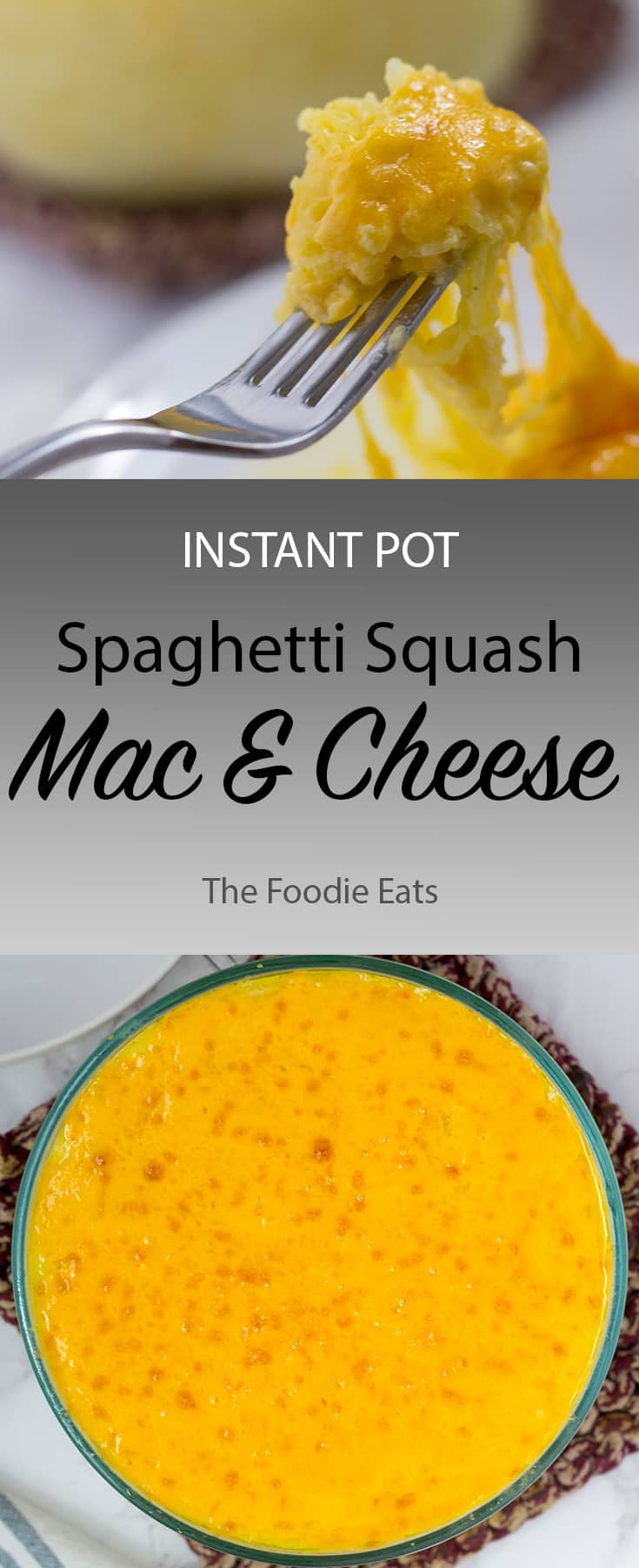 Spaghetti Squash Mac and Cheese | The Foodie Eats