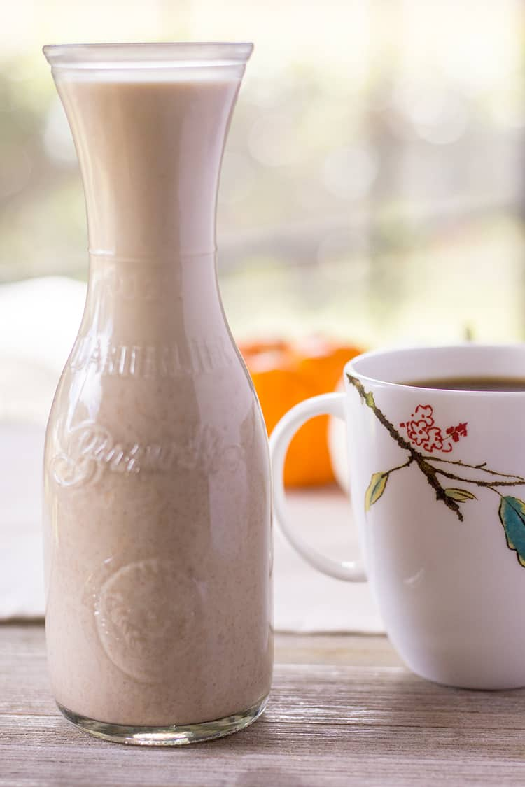 Pumpkin Spice Coffee Creamer in the Instant Pot | The Foodie Eats