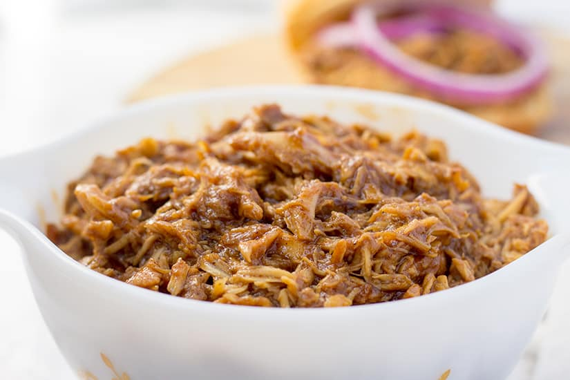 Instant Pot Shredded Chicken | The Foodie Eats