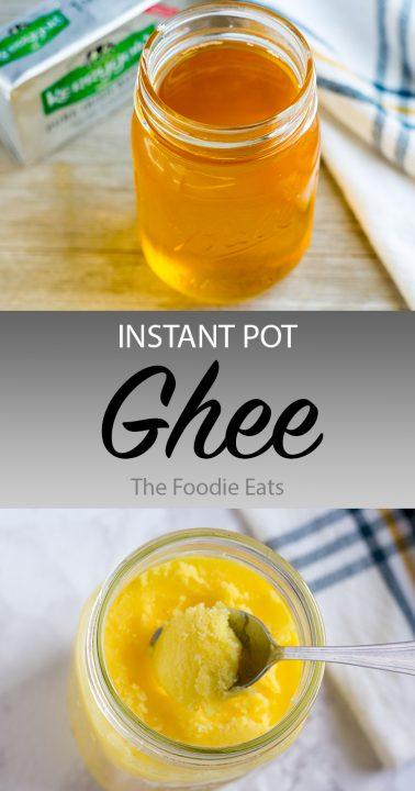 Ghee image for Pinterest