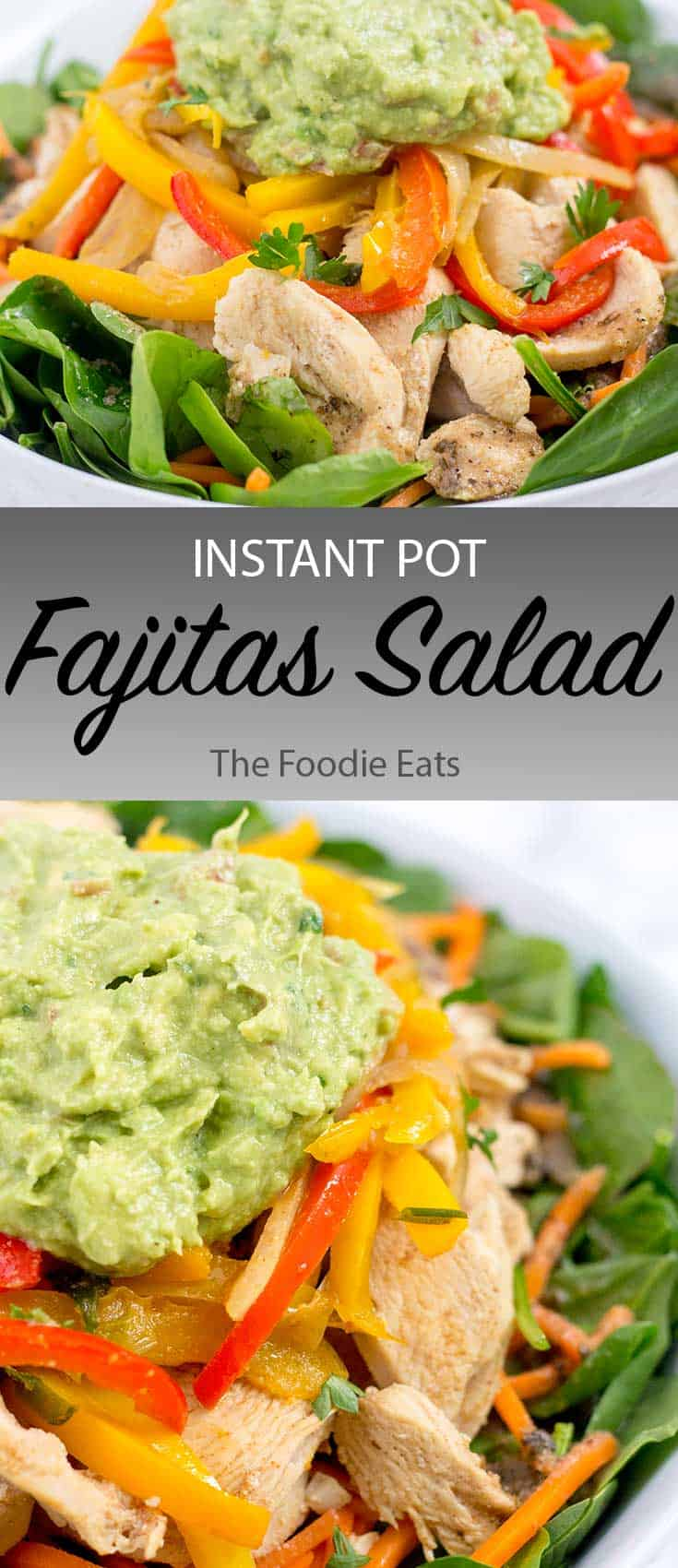 fajitas salad image for Pinterest