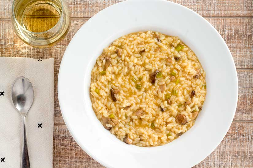 Instant Pot Mushroom Risotto The Foodie Eats